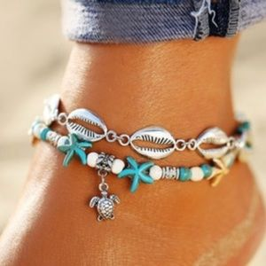 Jewelry - Double anklet New Sale
